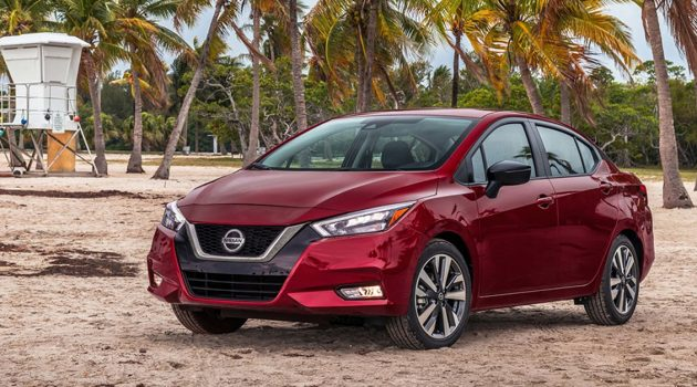 2020 Nissan Almera 现身测试,预计最快第三季发布