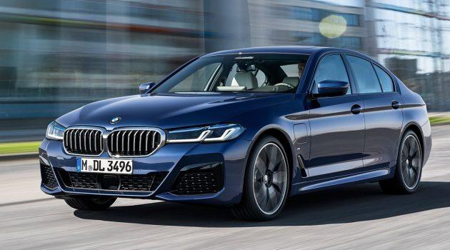 2021 BMW 5 Series 正式发布,彻底改头换面