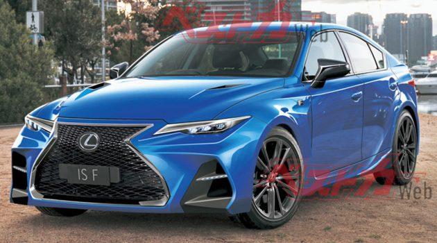 2021 Lexus IS 10月正式发布,性能版即将来临