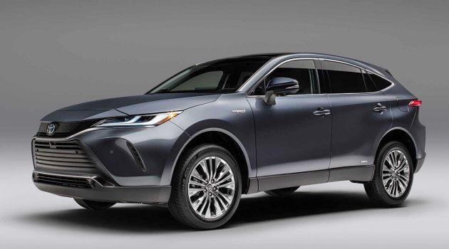2021 Toyota Venza 正式发表,crossover的新选择