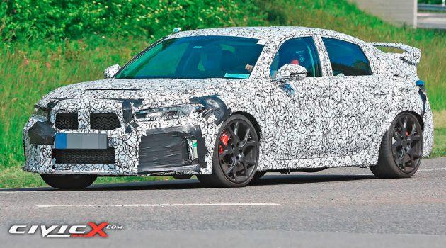 Honda Civic Type R 大改款现身,会有 AWD 系统?