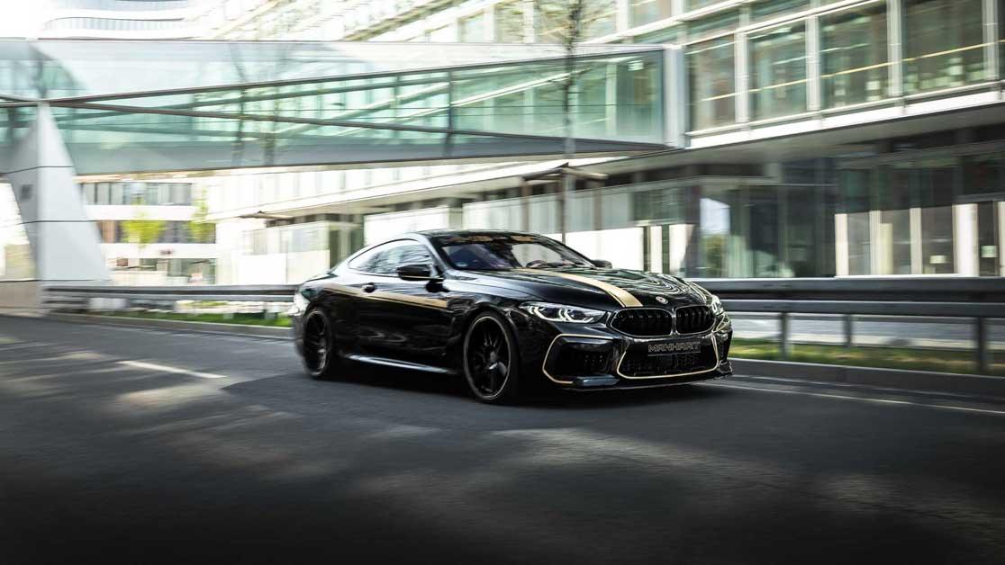 BMW M8 Competition By Manhart,一辆性能强悍到无视超跑的 GT 跑车