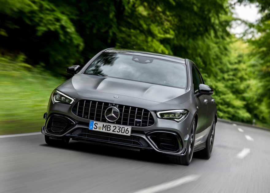 Mercedes-AMG CLA45 S-5