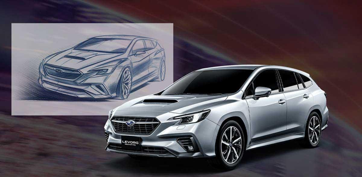 Subaru Levorg 发布在即,外形与概念车十分接近!