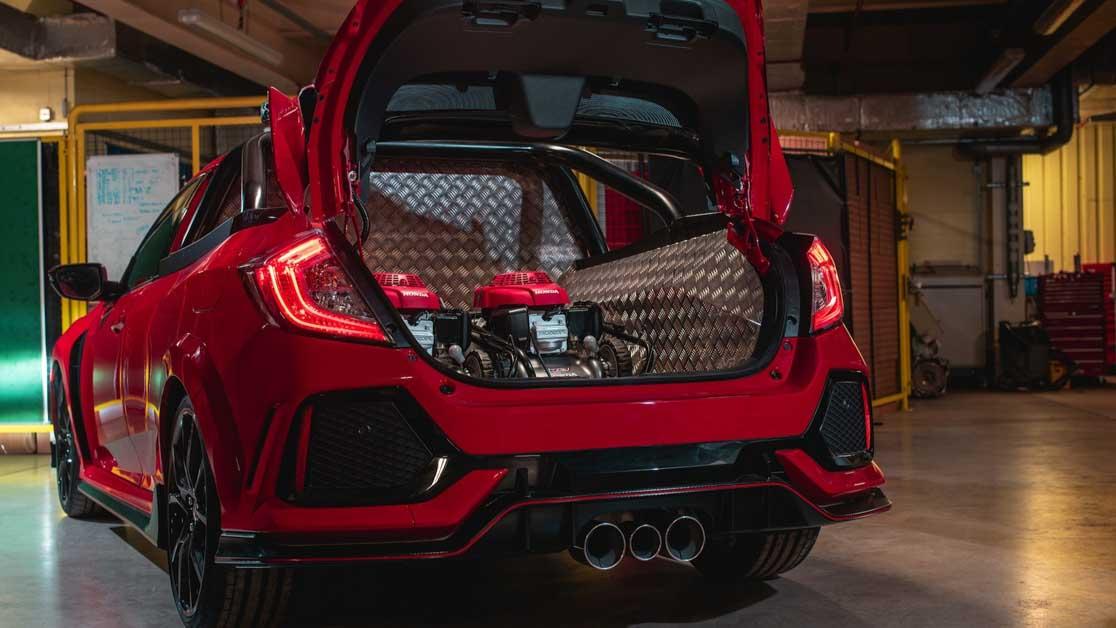 Honda Civic Type R FK8 Project P,大家还记得这辆 FK8 皮卡概念车吗?