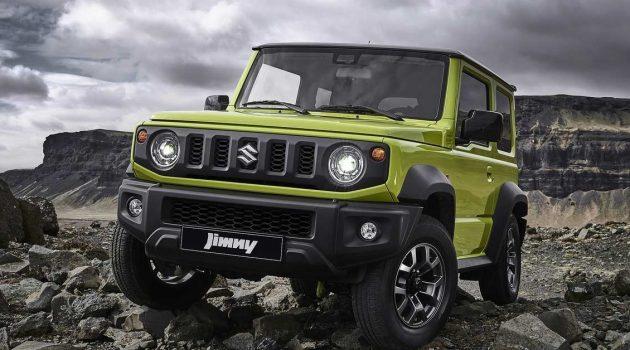 Suzuki Jimny 现身我国平行入口车商,开价约 RM151,000 起