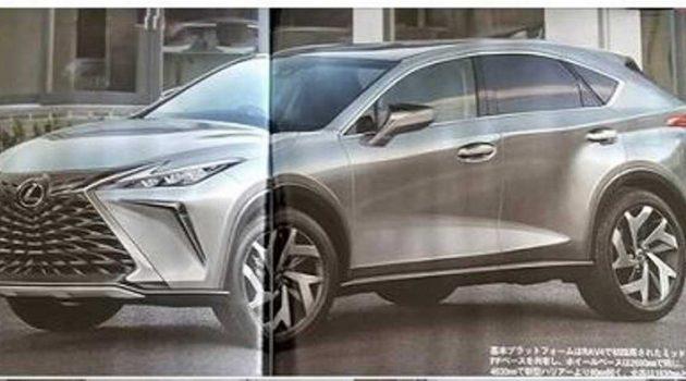 新一代 Lexus NX 长这样?将采用 TNGA 底盘打造,搭载 PHEV 混动引擎!