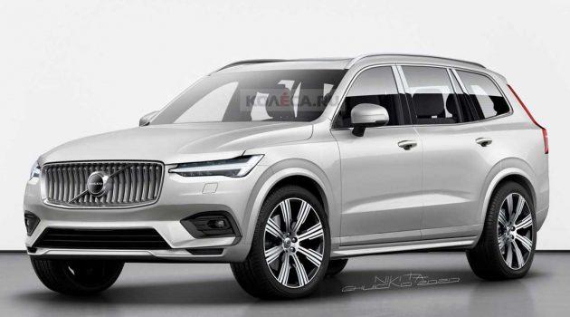 Volvo XC100 旗舰 SUV 确定生产,外形犹如放大版 XC90!