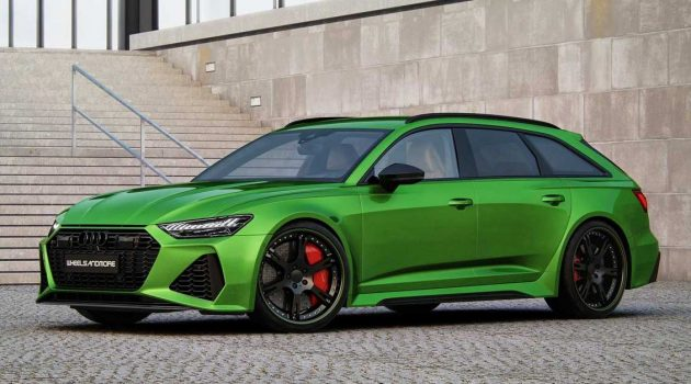 Audi RS6 Avant By Wheelsandmore,1,010Hp 的改装旅跑!