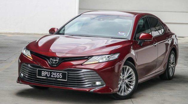 最超值二手车:Toyota Camry XV70 2.5