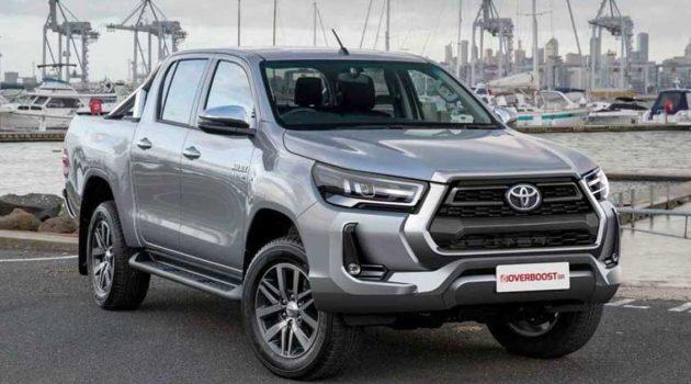 2021 小改款 Toyota Hilux 将在6月4日于泰国市场全球发布!