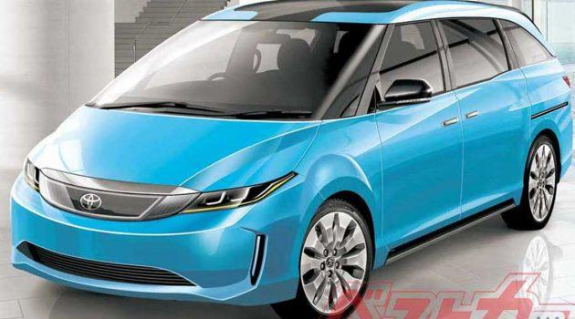 Toyota Estima 或将复活,成为一辆氫燃料電池汽車