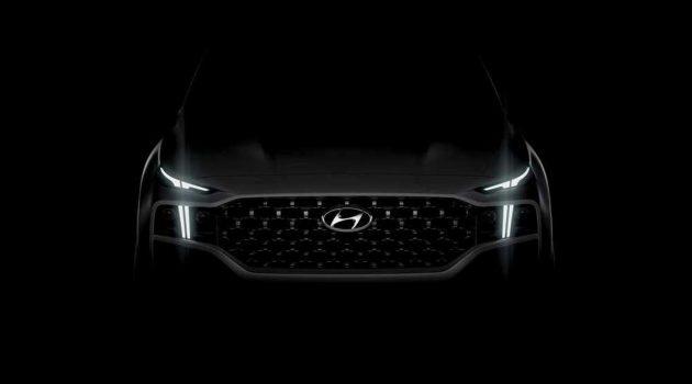 2021 Hyundai Santa Fe 预告释出,确定发布在即