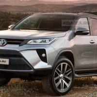 小改款 Toyota Fortuner 或将在6月于泰国市场正式发布