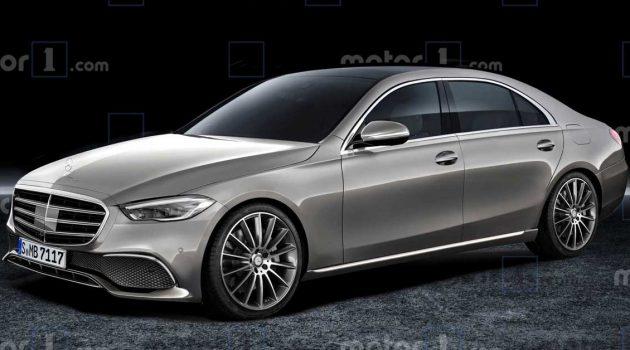 2021 Mercedes-Benz S Class 假想图与完全规格曝光,发布近在眼前?
