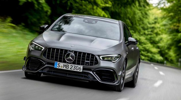 Mercedes-AMG A35 , A45 与 CLA 45 下周我国发表!
