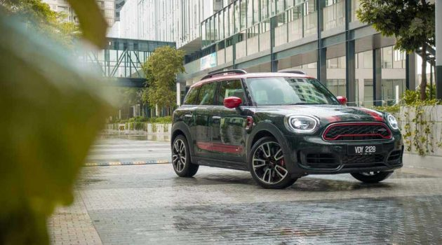 MINI Countryman JCW ,钢炮级休旅车