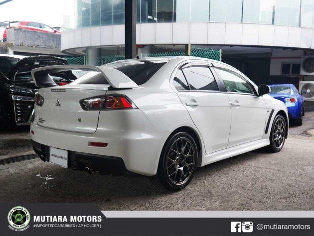 Mitsubishi Evo X Final Edition 复新车现身我国!