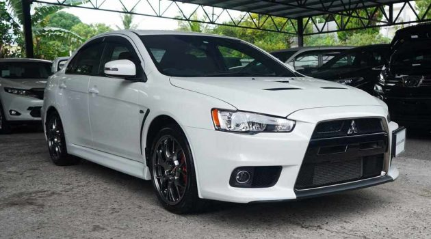 Mitsubishi Evo X Final Edition 复新车现身我国!