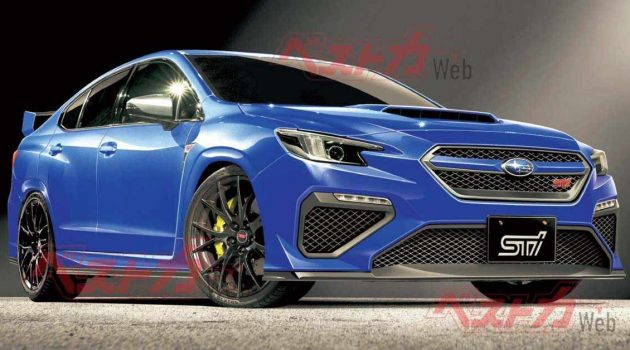 Subaru WRX STI 大改款或明年10月登场