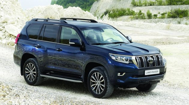 Toyota Land Cruiser Prado 大改款将登场,采用全新平台打造