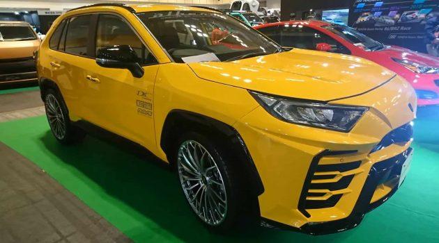 Toyota RAV4 前脸大变,化身 Lamborghini Urus !