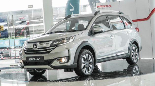 2020 Honda BR-V 对比之前有什么改变升级?