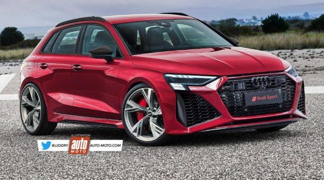 2021 Audi RS3 或将拥有450Hp 最大马力,称霸钢炮之王宝座