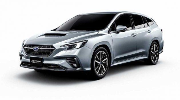 2020 Subaru Levorg 确定将在今年9月正式发布