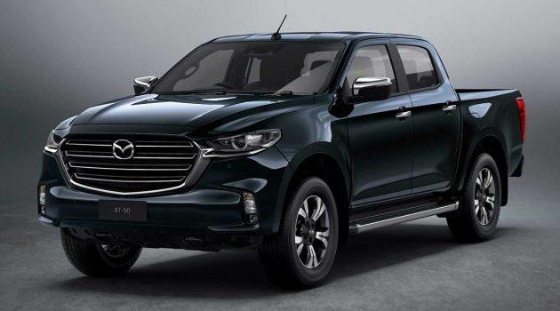 2021 Mazda BT-50 正式发表,帅气的 Kodo 皮卡!