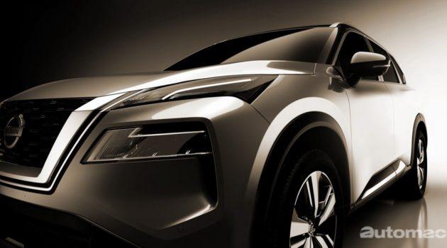 Nissan X-Trail 预告释出,明日正式登场!