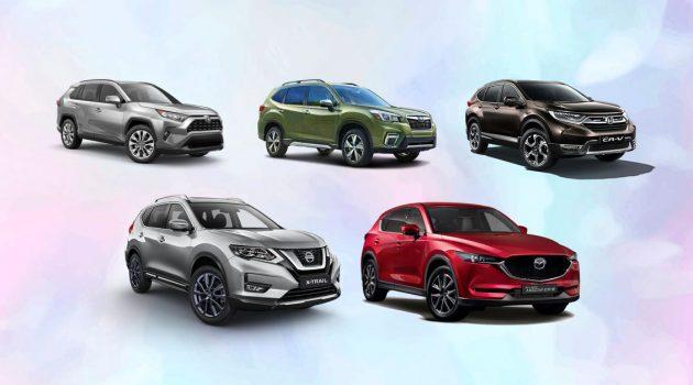 C-Segment SUV 新车价比一比,你们会选哪一款?