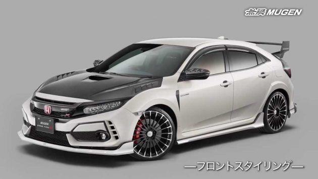 Honda Civic Type R FK8 Mugen 套件再升级,碳纤维就是帅!
