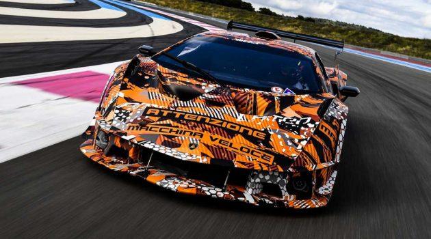 Lamborghini Squadra Corse V12 发布在即,搭载史上最强 V12 自吸引擎