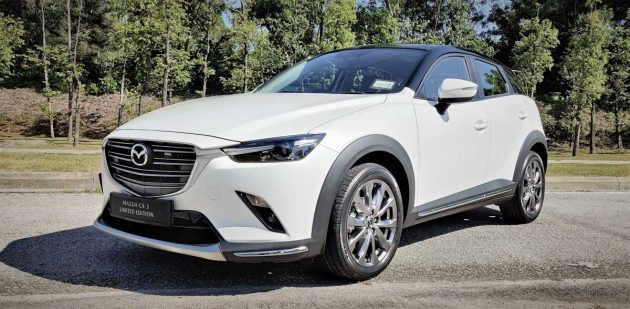 Mazda CX-3 Limited Edition 正式登场,售价 RM141,329