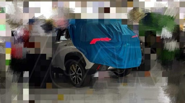 Toyota Corolla Cross 实车谍照流出,犹如小一号 RAV4!