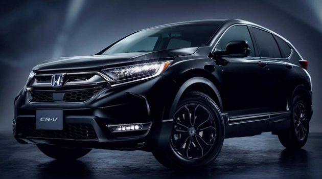 2021 Honda CR-V 日本推出小改款车型,外形小升级,备有流水转向灯