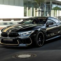 BMW M8 Competition By Manhart,一辆拥有823Hp/1,050Nm 的GT 跑车