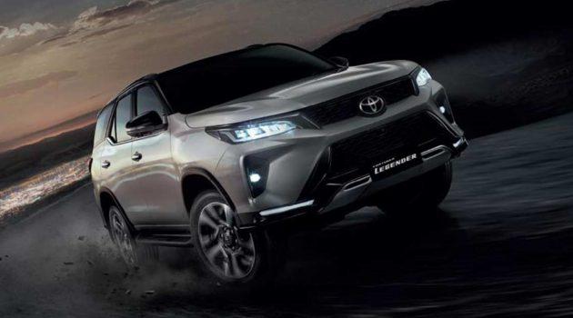 2021 Toyota Fortuner 正式登场,颜值超高的7人座SUV!