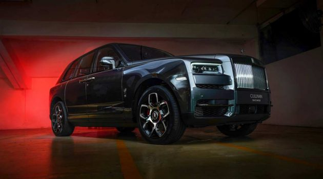Rolls Royce Black Badge Cullinan 登陆我国,RM 170万起跳