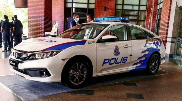 Honda Civic 1.8S 成为我国警队最新巡逻车!