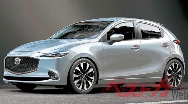 Mazda2 将在2021年9月迎来大改款?