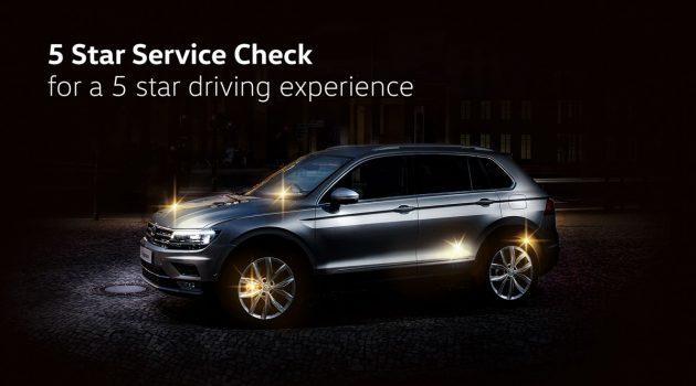 Volkswagen Malaysia 推出5星级免费检查服务
