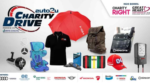 Auto2u 与 automachi 推广 Shop&Donate 慈善活动,帮助受疫情与 MCO 影响的家庭