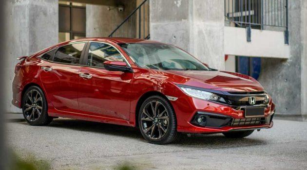 2020 Honda Civic,我国最畅销的 C-Segment 轿车