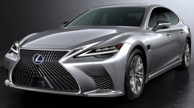 2021 Lexus LS 正式发布,科技再一次升级