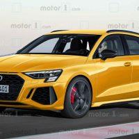 2021 Audi RS3 假想图曝光,马力或达到450Hp,打败 AMG A45 S