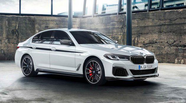 BMW 5 Series M Performance Parts 出炉,有 M Performance 就是不一样