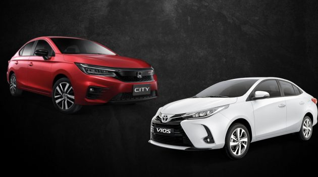2020 Toyota Vios VS 2020 Honda City,你们怎么选?