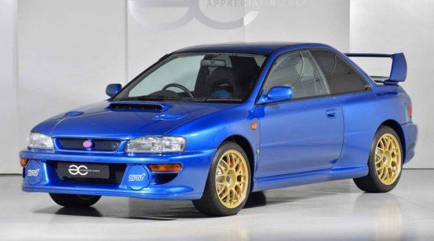150万的 Subaru!Subaru Impreza 22B STi 天价拍卖!